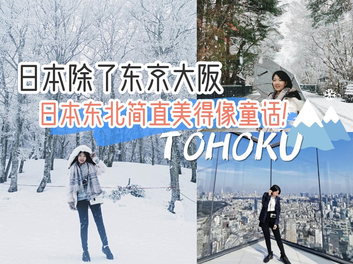 日本除了东京大阪,这里简直美得像童话一样!